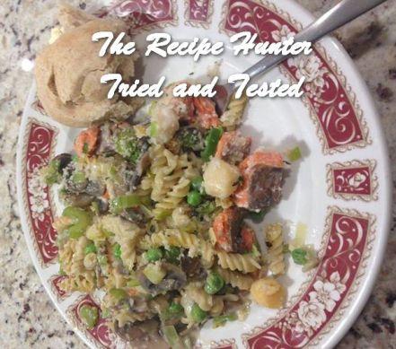 TRH Valerie's Salmon Noodle Bake