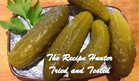 TRH Ahmed's Pickled Cucumber