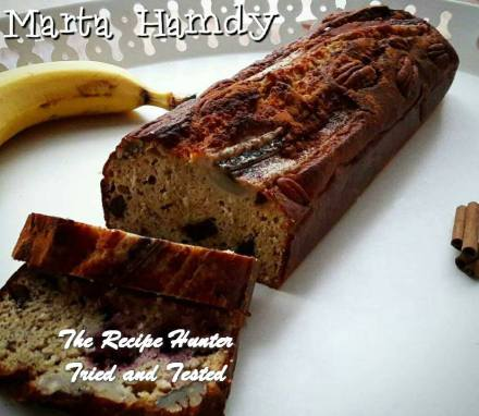 TRH Ahmed's Sugar free, Gluten free Banana Bread with Cinnamon