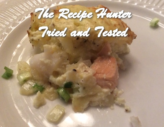 TRH Es's Crustless Seafood Quiche