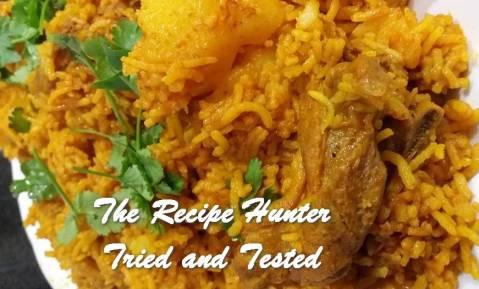 TRH Feriel's Lamb Akhni with Refreshing Dhay