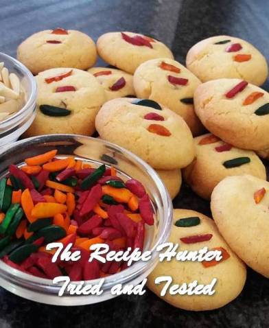 TRH Feriel's Naan Khatai biscuits