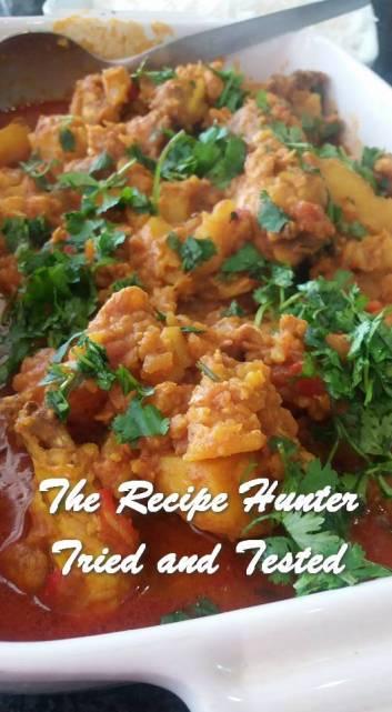 TRH Feriel's Spicy Chicken Curry