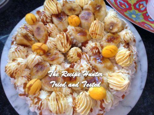 TRH Gail's Banoffee Easter Pavlova