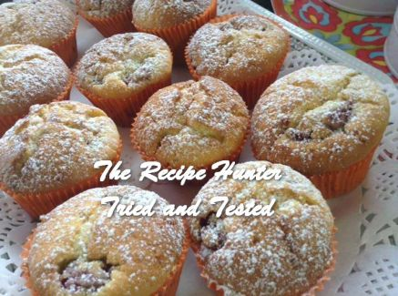 TRH Gail's Raspberry Muffins