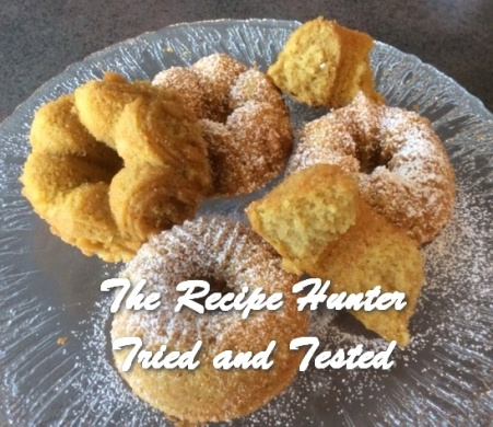 TRH Gluten Free Lemon and Maple Syrup Mini Bundt Cake