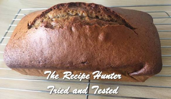 TRH Hannah's Ginger Cake for Pesach