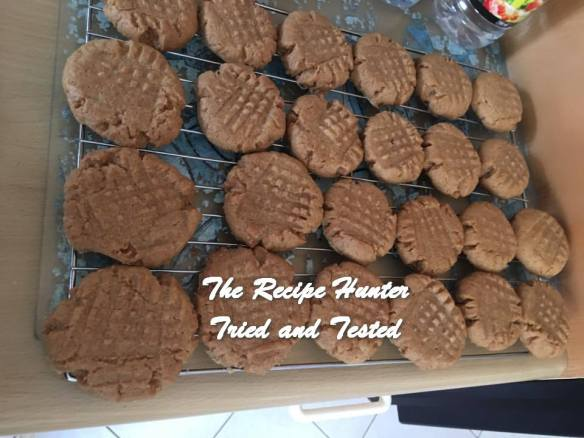 TRH Hannah's Peanut Butter Biscuits