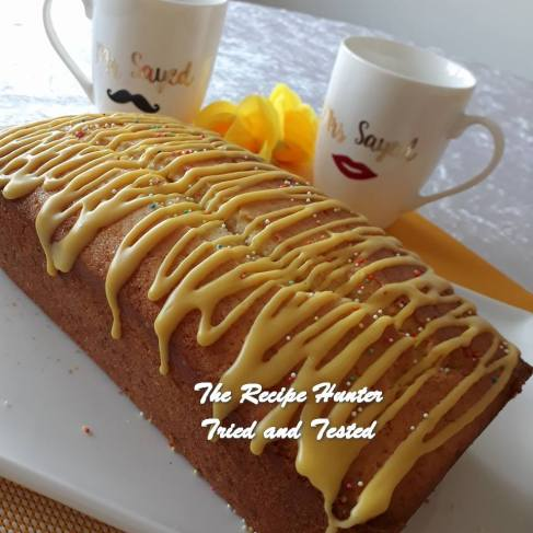TRH Jameela's Lemon Madiera Loaf