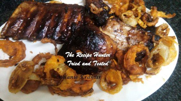 TRH Melanie's BBQ Pork Spare Ribs