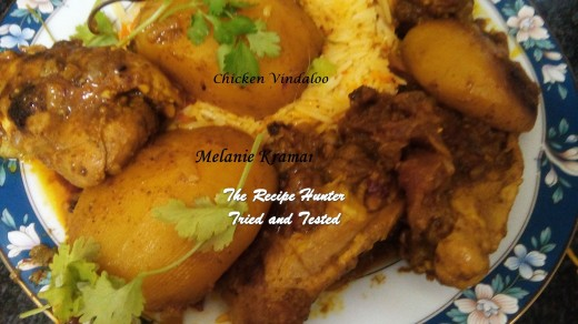 TRH Melanie's Chicken Vindaloo