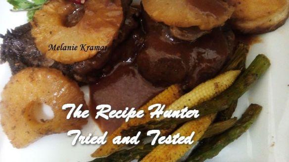 TRH Melanie's Indian Roasted Pineapple Pork
