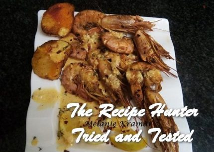 TRH Melanie's Prawns in Lime and Olive Oil