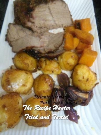 TRH Melanie's Roast Pork Neck with Mustard and Fennel Rub