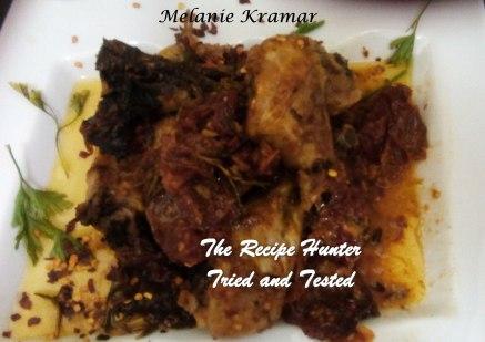 TRH Melanie's Sundried Tomato Grilled Chicken with Garlic and Lemon