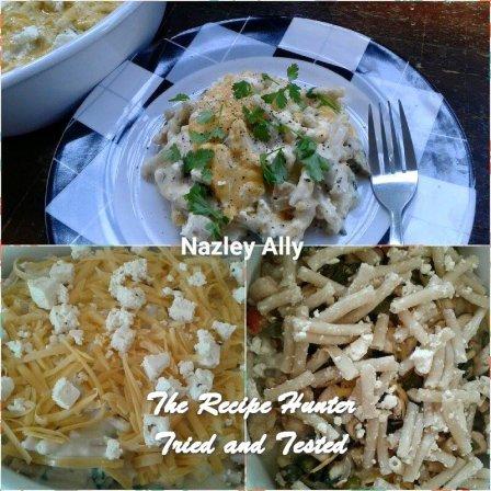 TRH Nazley's Chicken Pasta