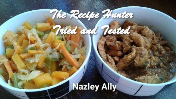 TRH Nazley's Warm Butternut relish and Chicken strips