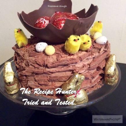 TRH Preshana's Chocolate Cake with Chocolate Cream Cheese Ganache