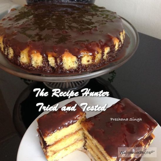 TRH Preshana's Sticky Orange Marmalade Cake