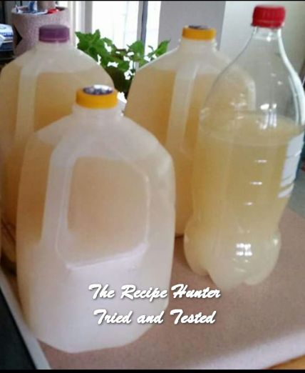 TRH Roy's Home brew Ginger Beer with a kick