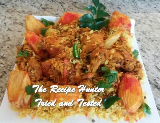 TRH Sandy's Masala Chicken Breyani