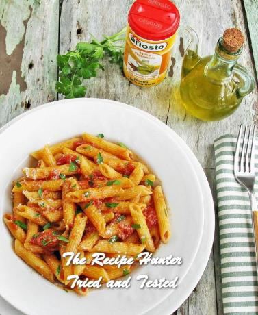 TRH Saverio's Penne pasta all'arrabbiata.jpg