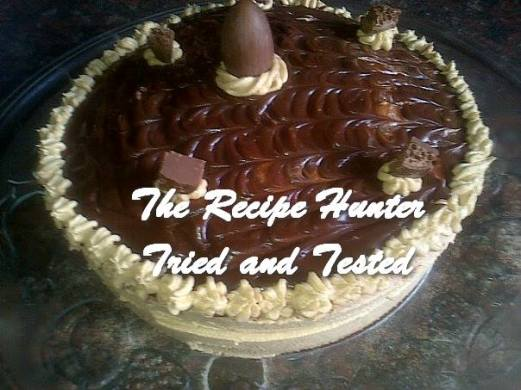 trh Selvie's Coffee Cream Ganache Cake