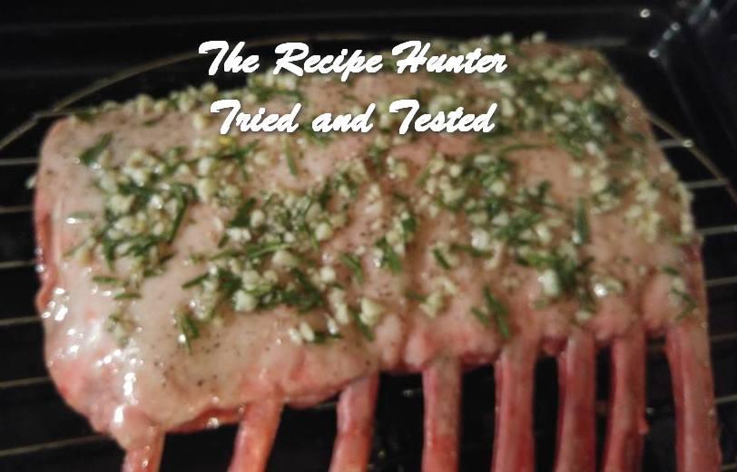 TRH Wally's Garlic Encrusted Rack of Lamb