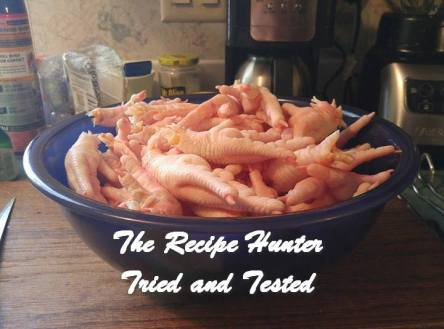 TRH Wally's Homemade chicken feet stock