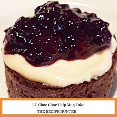 LC Choc Choc Chip Mug Cake