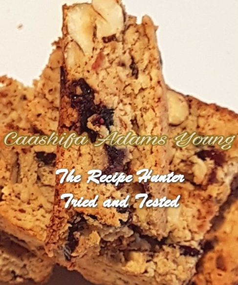 TRH Caashifa's LC Cranberry and Hazelnut Biscotti