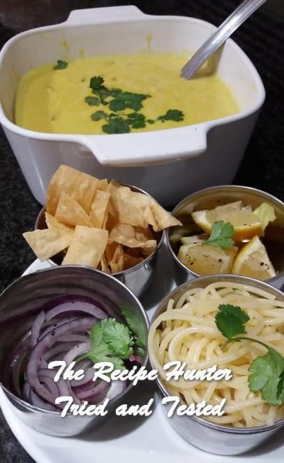 TRH Feriel's Burmese Chicken Soup (Khowse)