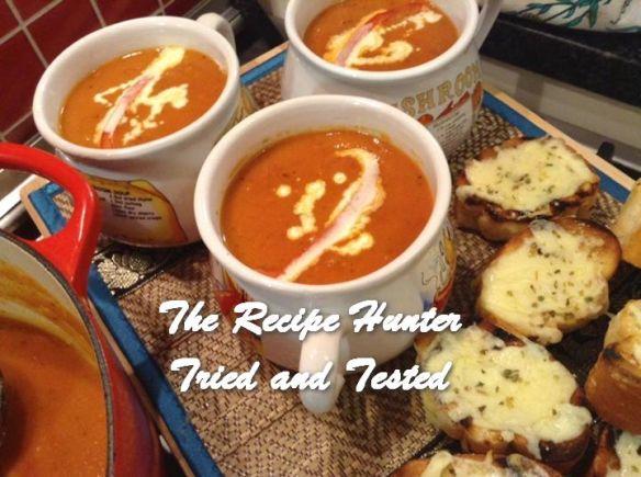 TRH Gail's Creamy Roasted Tomato Basil Soup