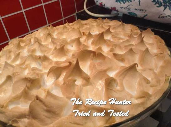 TRH Gail's Lemon Meringue Pie