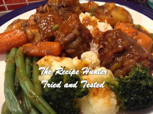 TRH Gail's Oxtail Stew