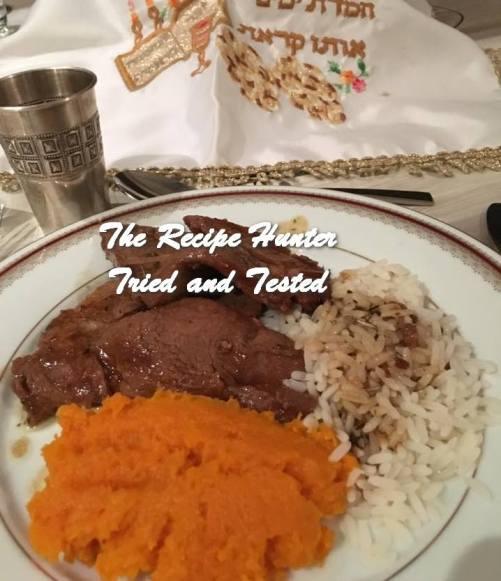 TRH Hannah's Shabbat Roast - Raisin Rib