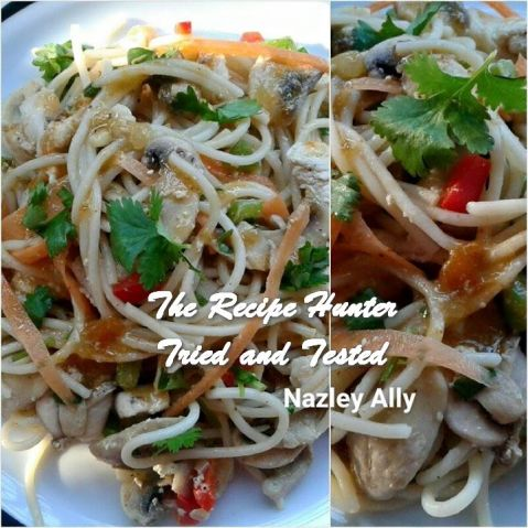 TRH Nazley'a Spaghetti Stirfry