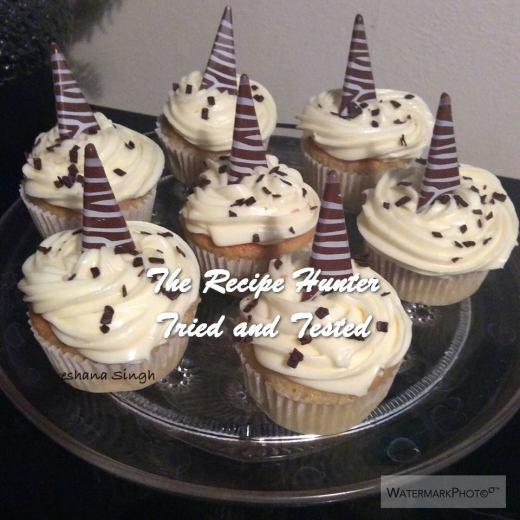 TRH Preshana's Perfect Vanilla Cupcake