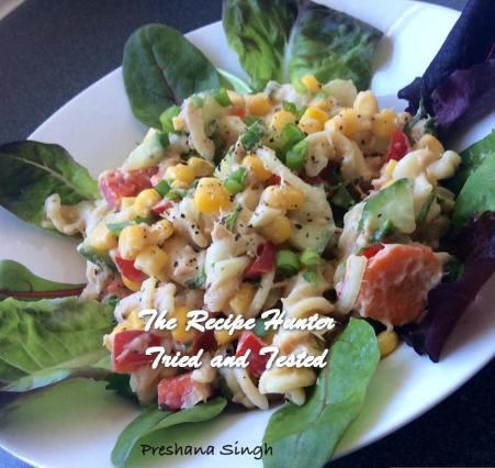 TRH Preshana's Tuna Pasta Salad