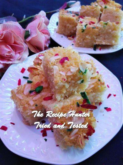 TRH Rashida's Semolina Cake