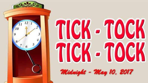 TRH tick tock clock