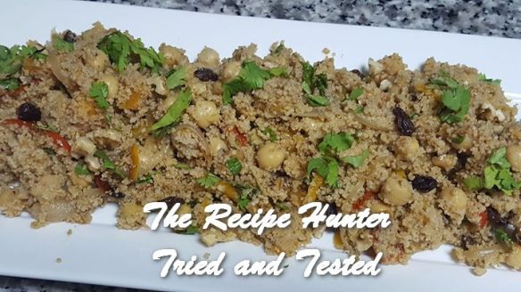 TRH Vashnee's Wholewheat cous cous with roasted veggies