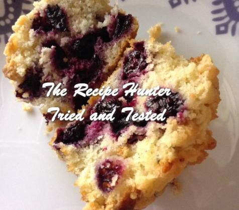 TRH Blueberry Crumble Muffins