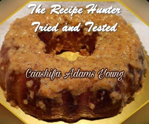 TRH Caashifa's Gluten and Sugar Free Cantaloupe Cake