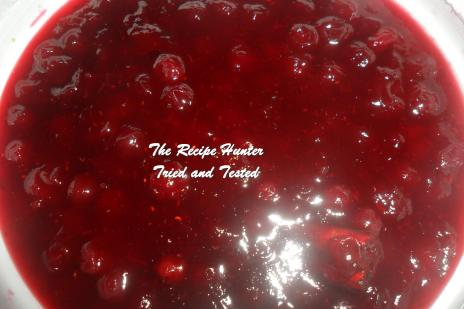 TRH Carol's Cranberry Sauce