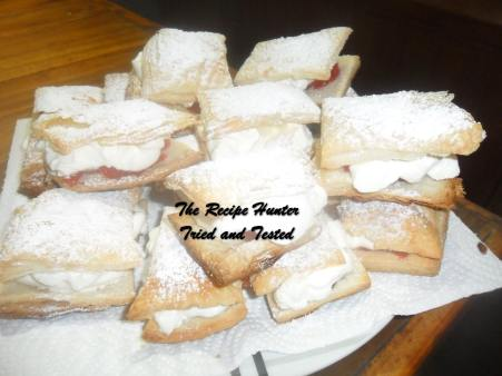 TRH Carol's Fresh Cream Slices