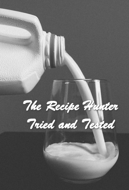 TRH Carol's Guide How to make your own Buttermilk