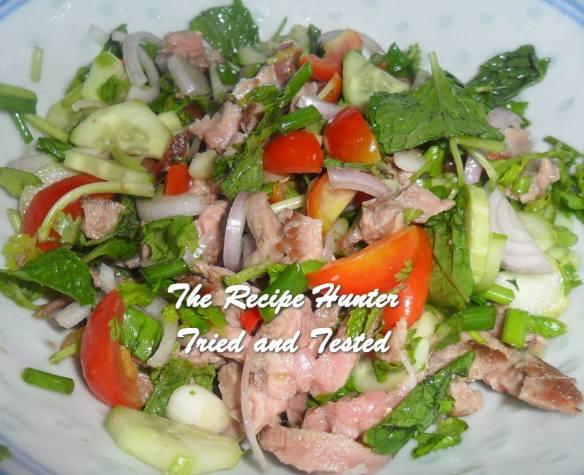 TRH Carol's Thai Beef Salad