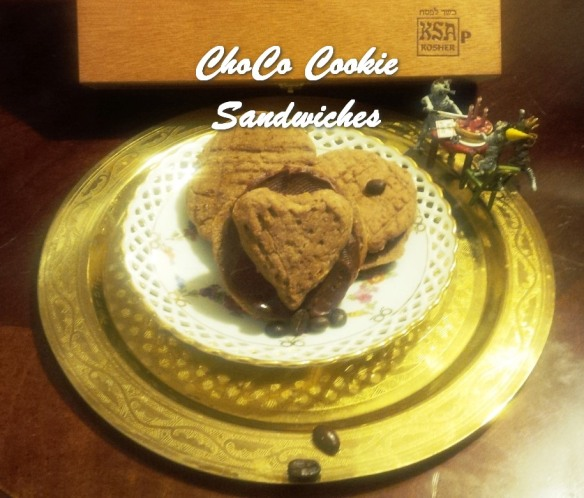 TRH ChoCo Cookie Sandwiches