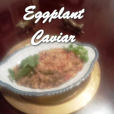 TRH Eggplant Caviar